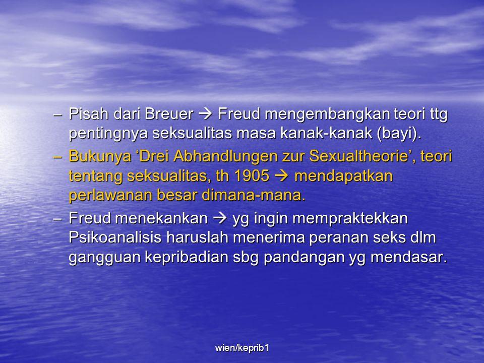 –Freud & Breuer (rekannya) bekerjasama menggunakan Hipnotis. Pasien diminta berbicara bebas ttg tekanan-tekanan emosionalnya  chatarsis. –Unsur dasar