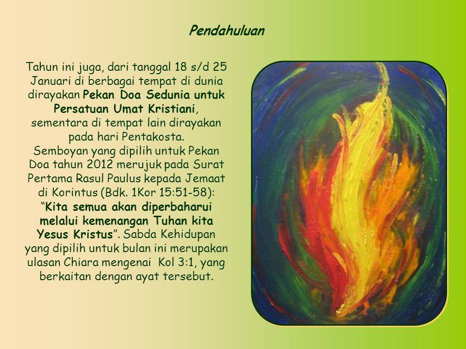 Sabda Kehidupan Sabda Kehidupan Januari 2012 Januari 2012