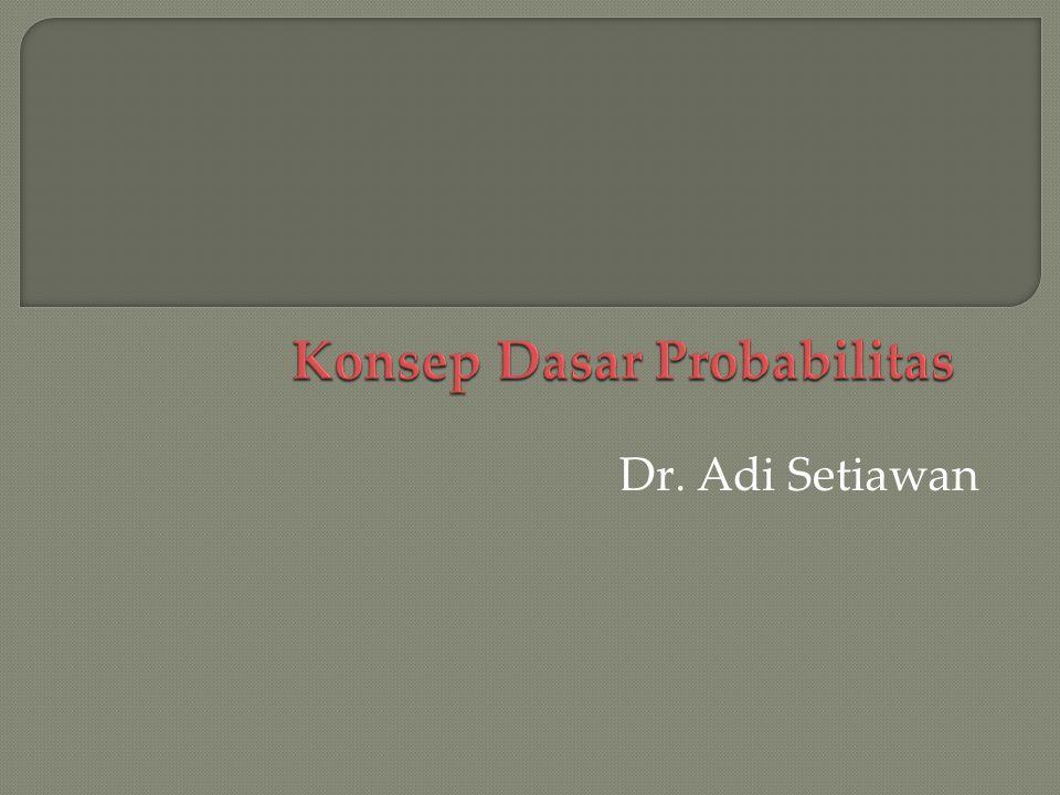 Dr  Adi Setiawan