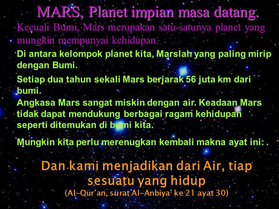 "Mengapa Planet kita namakan Kawkab ?. Kalau kita melihat langit di malam hari, kita akan melihat bintang. Tidak ada orang yang mengatakan ""saya meliha"