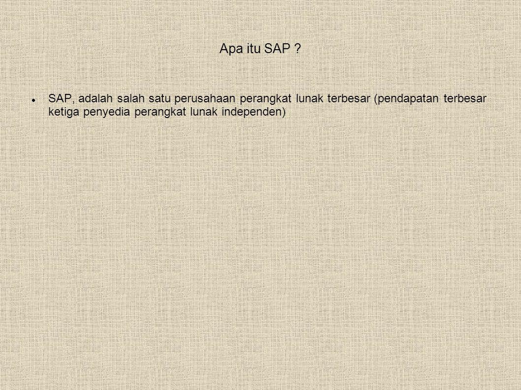 Apa itu SAP .