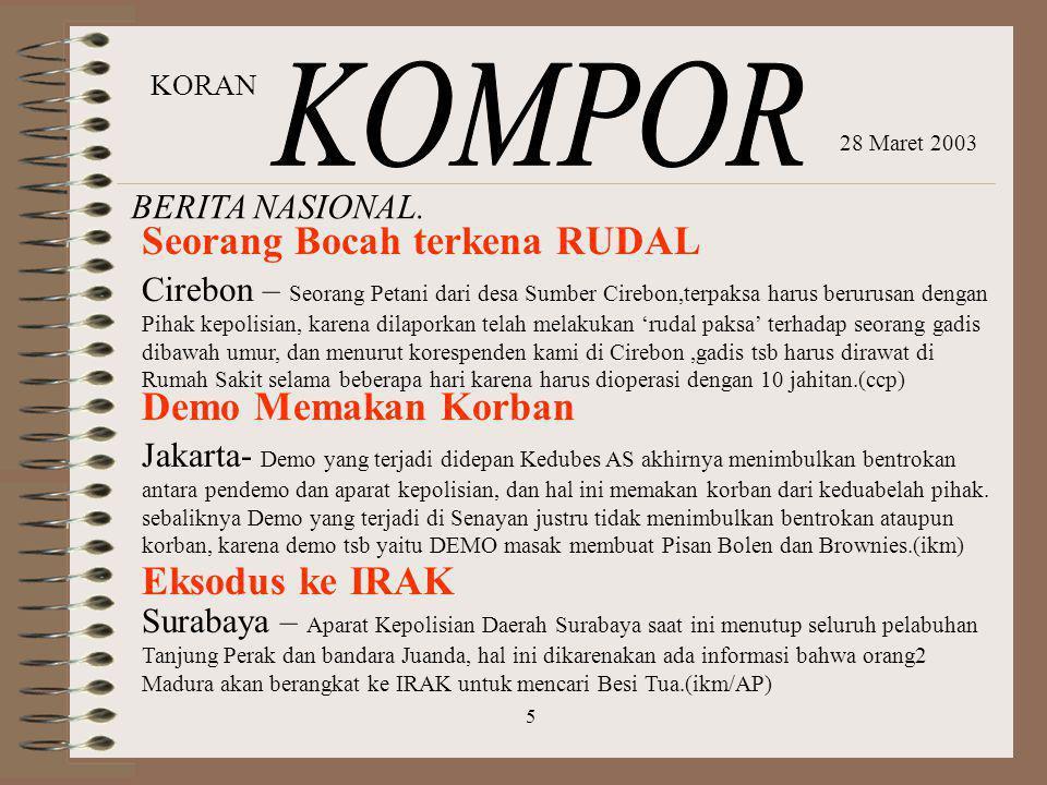 BERITA NASIONAL. Cirebon – Seorang Petani dari desa Sumber Cirebon,terpaksa harus berurusan dengan Pihak kepolisian, karena dilaporkan telah melakukan