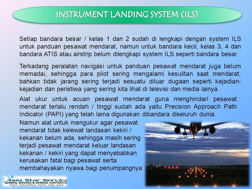 Ide Inovasi dengan menciptakan MAMI ini didasari oleh kenyataan sering terjadinya kecelakaan pesawat akibat dari acuan pendaratan dan kondisi cuaca atau angin disekitar bandara.