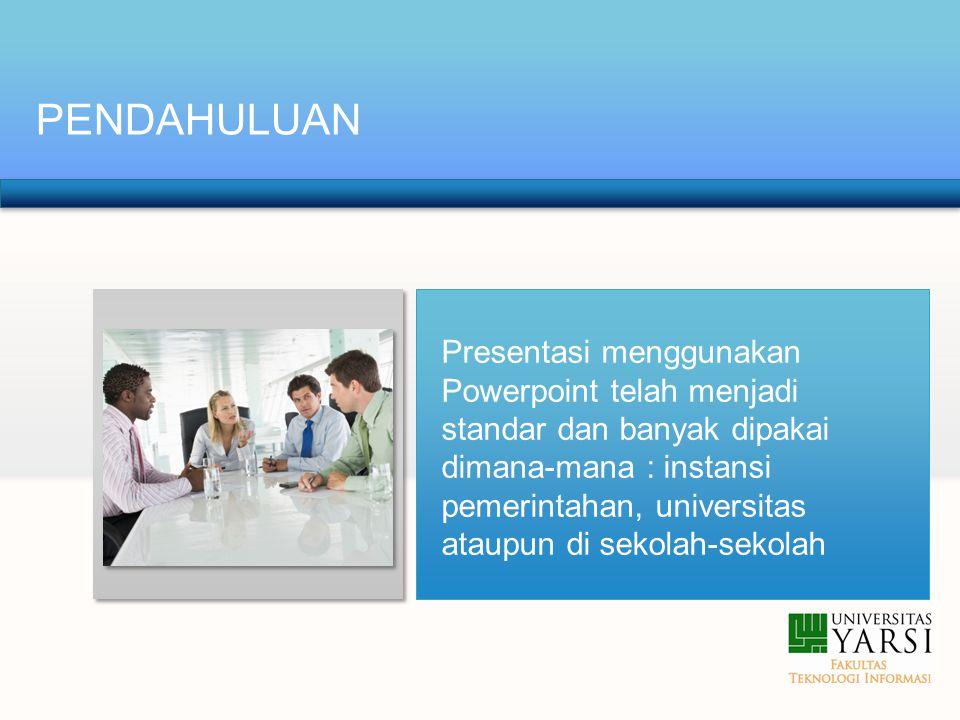 Menyimpan File Presentasi