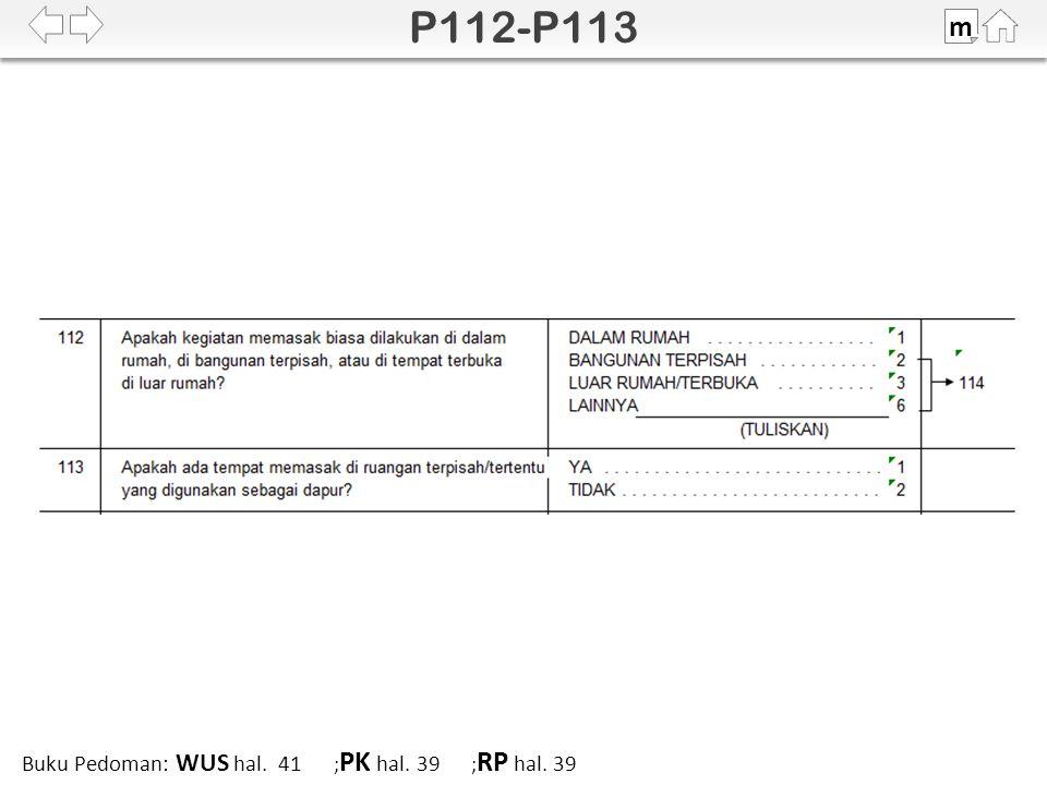 100% SDKI 2012 m Buku Pedoman: WUS hal. 41 ; PK hal. 39 ; RP hal. 39