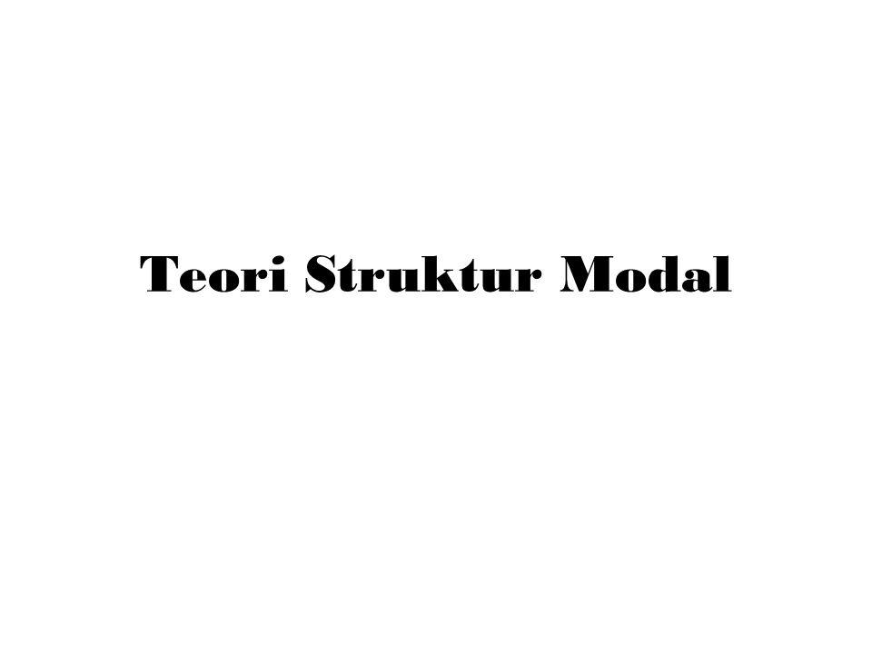 Pendahuluan Teori struktur modal menjelaskan apakah ada pengaruh perubahan struktur modal terhadap nilai perusahaan .