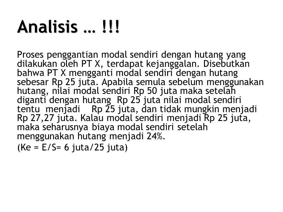 Analisis … !!.