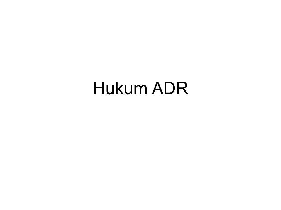 Hukum ADR