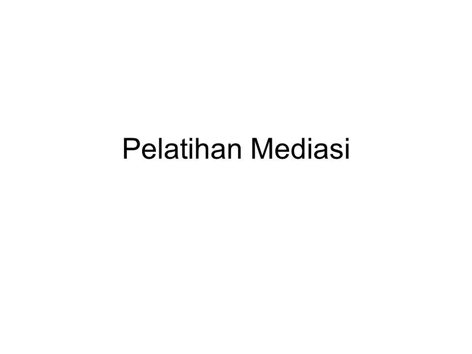 Pelatihan Mediasi