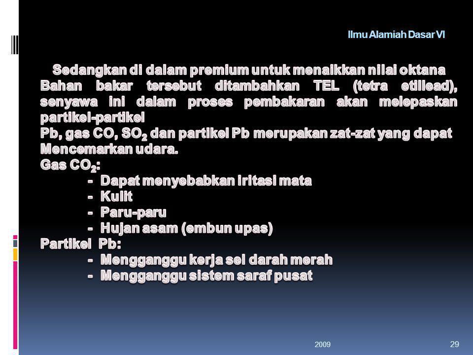 Ilmu Alamiah Dasar VI 200928
