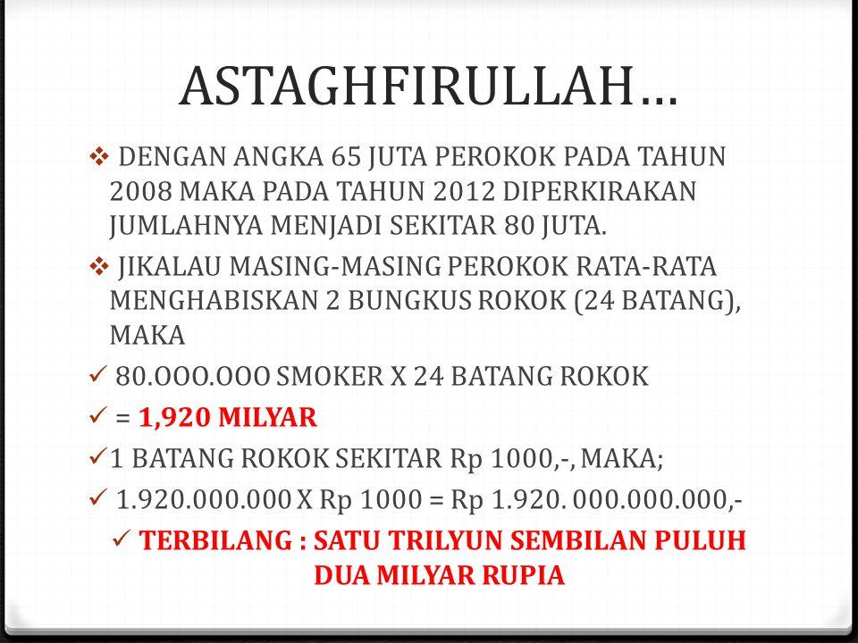 A NEW MARLBORO COUNTRY  INDONESIA ADALAH A NEW MARLBORO COUNTRY;  PETANI TEMBAKAU SEKITAR 3 JUTA ORANG  PEROKOK AKTIF 65 JUTA ATAU 28% DARI TOTAL P