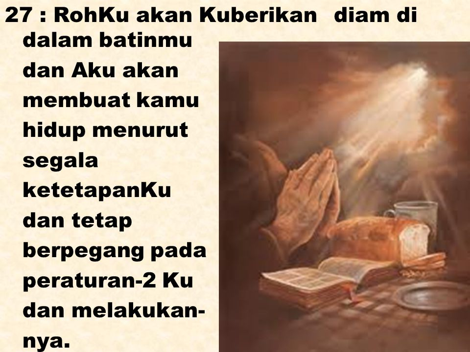c : Yaitu dengan mengutus puteraNya ke dunia untuk membawa hidup baru bagi kita : c1 : mengakui bahwa Yesus adalah Tuhan YOH.