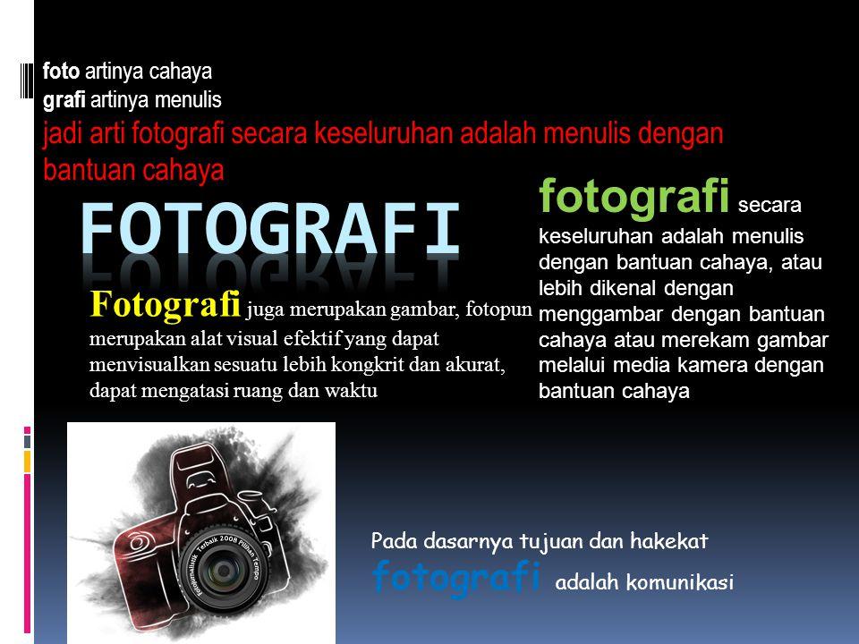 Istilah  Angle of View Sudut pandang dalam pengambilan objek foto.