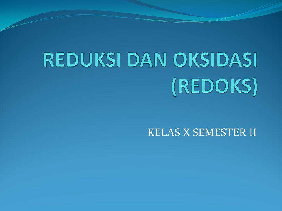 KELAS X SEMESTER II