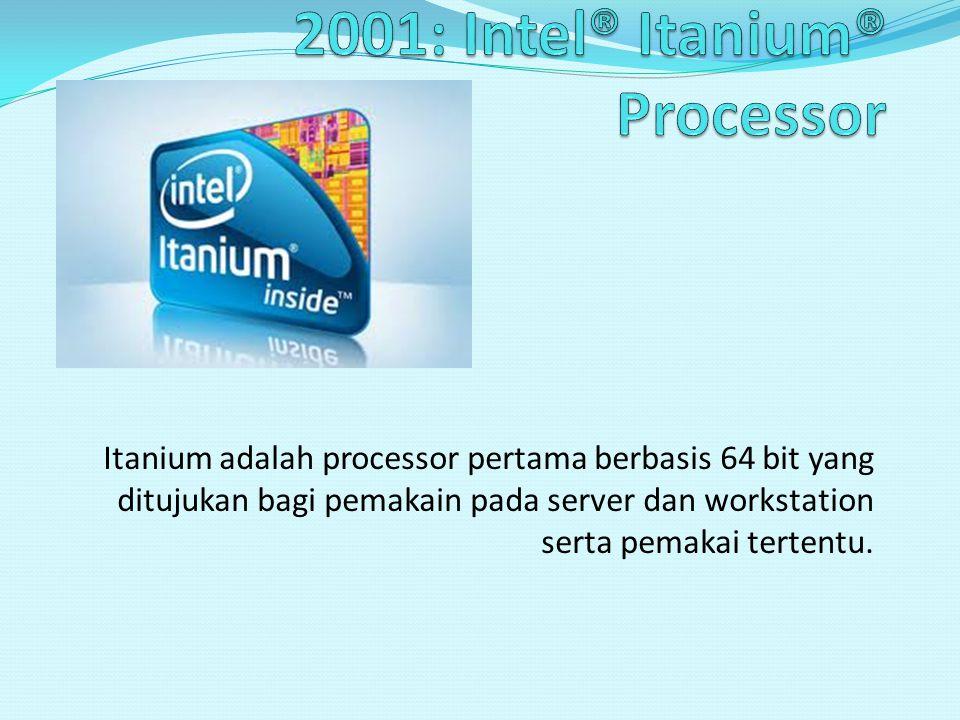 Core i9 adalah processor terbaru intel, dengan spesifikasi memiliki 6 core dengan kecepatan 2.8 Ghz dengan L2 256KB X 6 dan L3 12MB.