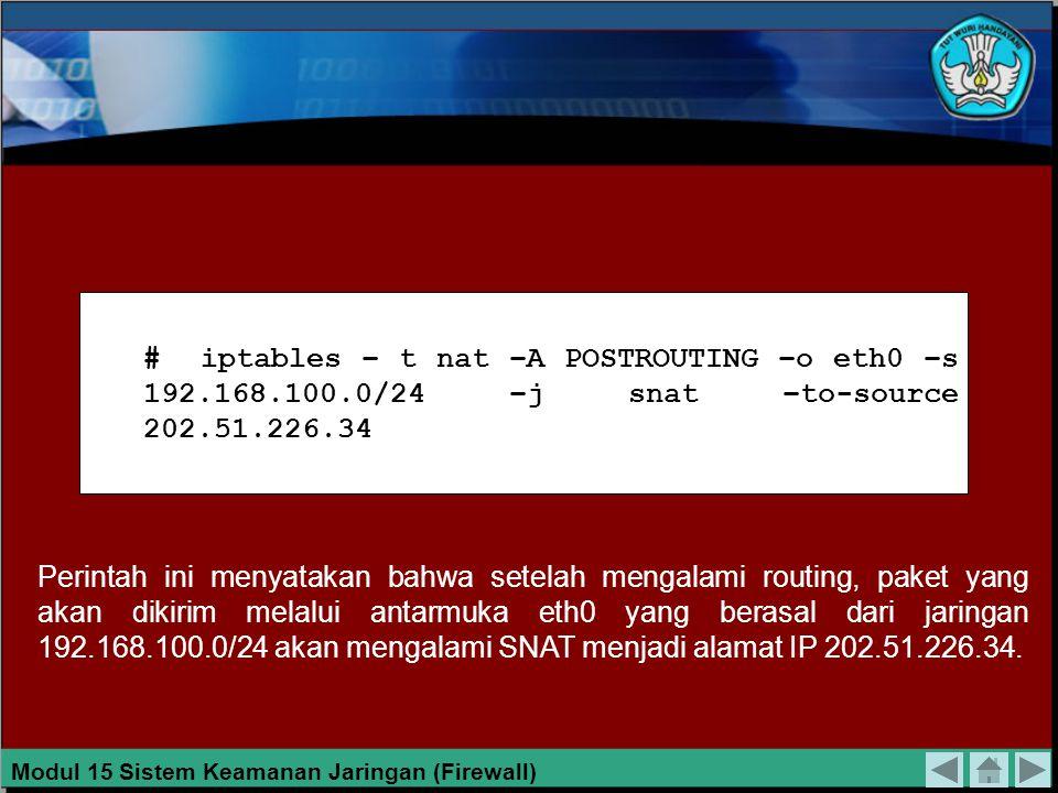 TEKNIK HUBUNGAN LANGSUNG Pada teknik hubungan langsung, komputer-komputer yang dirancang dapat untuk diakses melalui jaringan internet, diberi alamat IP publik dan langsung dihubungkan pada internet, tanpa melalui firewall.