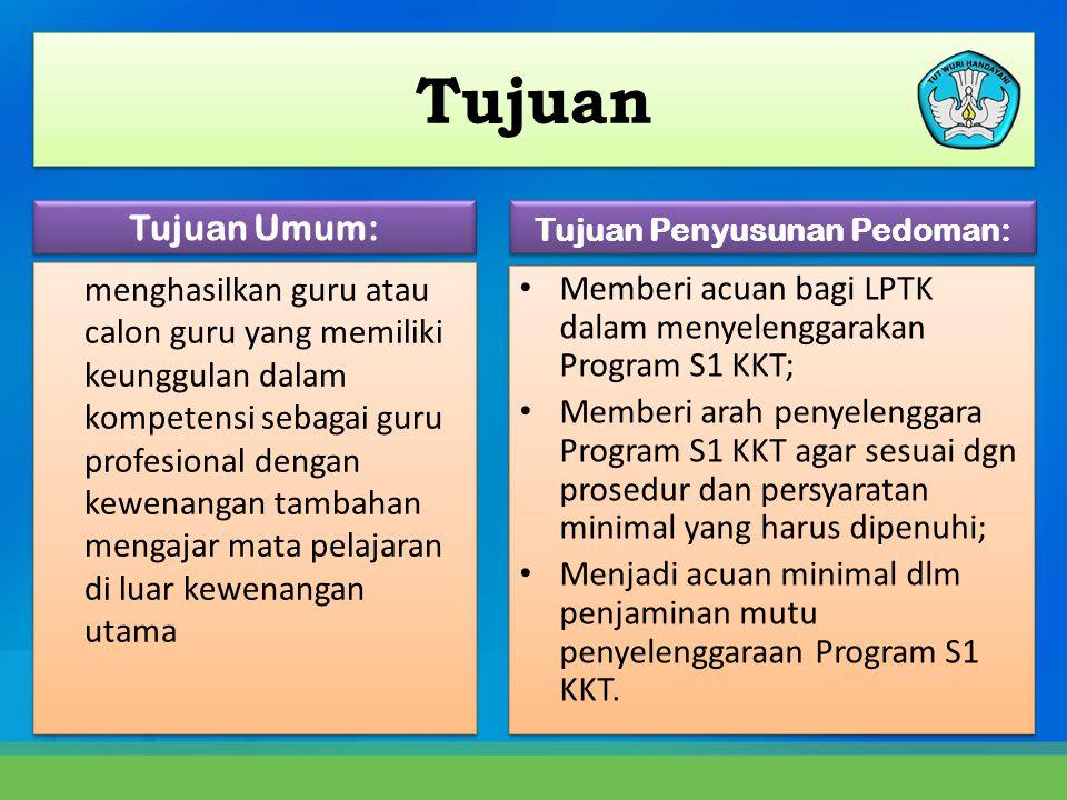 Strategi Implementasi 1.Tahap Persiapan a. Penetapan Kebijakan Nasional Program S1 KKT b.