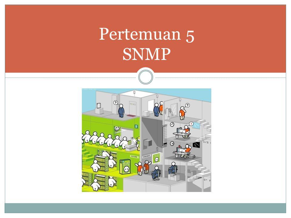 Pertemuan 5 SNMP
