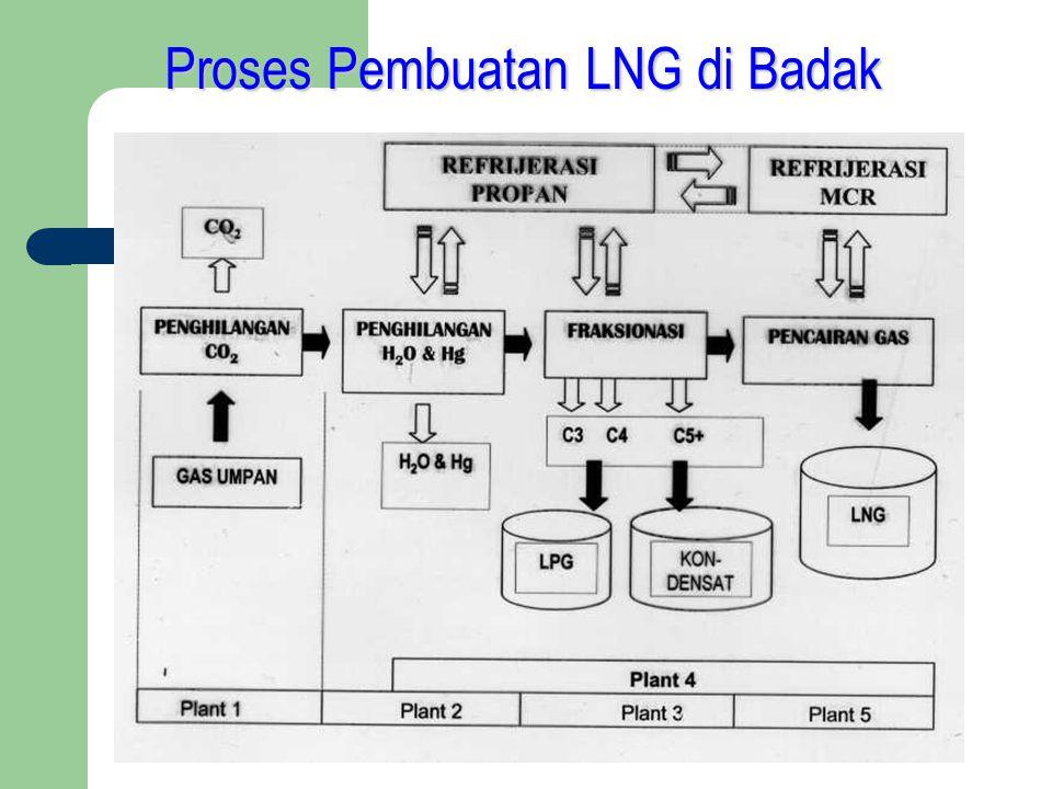 Proses Pembuatan LNG di Badak