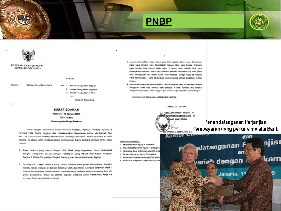 Jkwa_2008 PNBP Penandatanganan Perjanjian Pembayaran uang perkara melalui Bank