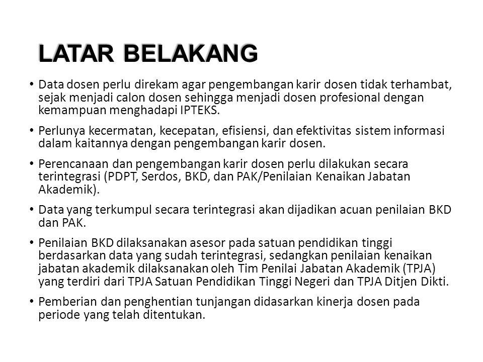 1.Undang-Undang Republik Indonesia Nomor 20 Tahun 2003 tentang Sistem Pendidikan Nasional 2.Undang-Undang Republik Indonesia Nomor 14 Tahun 2005 tentang Guru dan Dosen 3.Peraturan Pemerintah Republik Indonesia Nomor 19 Tahun 2005 tentang Standar Nasional Pendidikan 4.Peraturan Pemerintah Nomor 99 Tahun 2000 sebagaimana telah diubah dengan Peraturan Pemerintah Nomor 12 Tahun 2002 tentang Kenaikan Pangkat PNS.