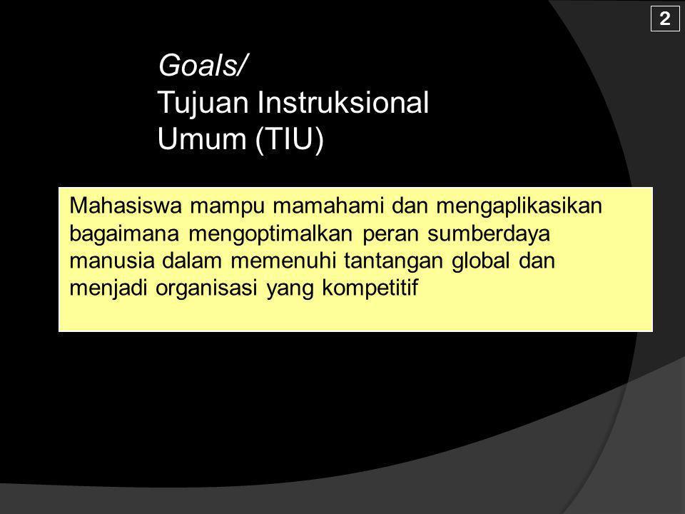 Short Description /Silabus ringkas Faktor Lingkungan; Kesamaan Kedudukan dan Peluang Kerja, Hubungan Kerja,Hubungan Industrial, Budaya Kerja Organisas