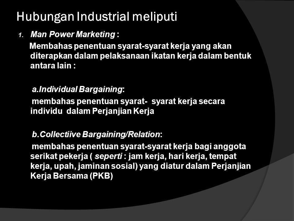 Tri- Kemitraan dalam Hubungan Industrial (three-partnership) antara pekerja dan pengusaha adalah sebagai :  Partnership in responsibility  Partnersh