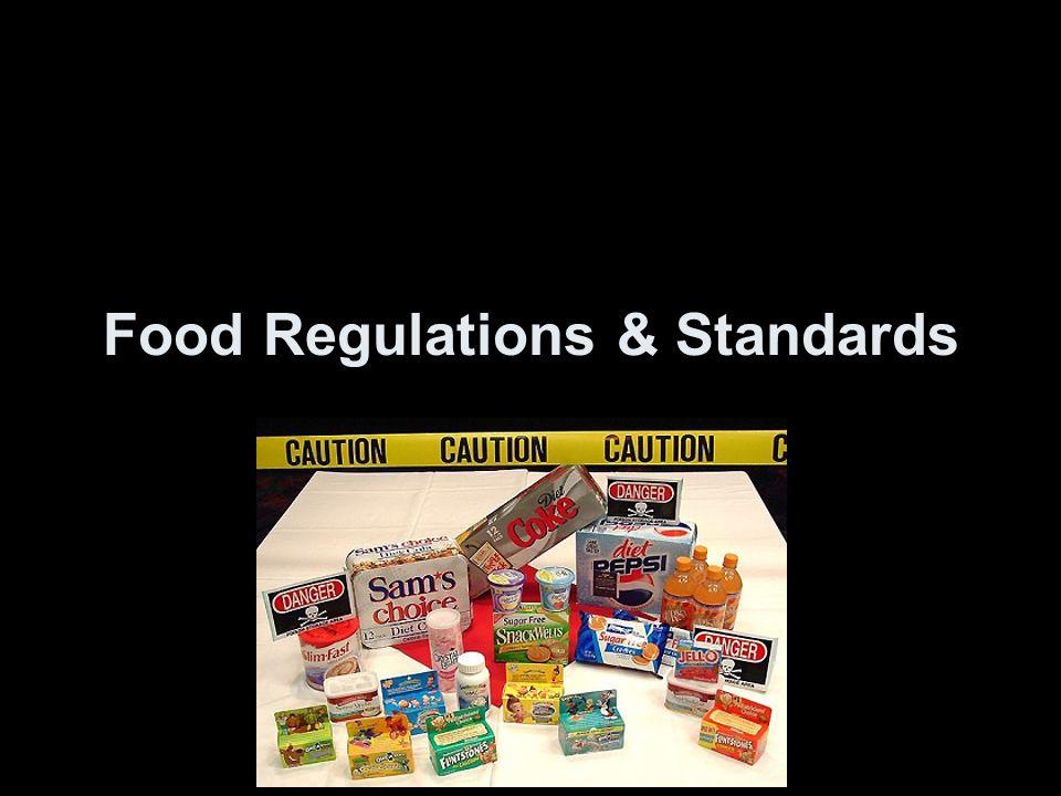 Food Regulations & Standards