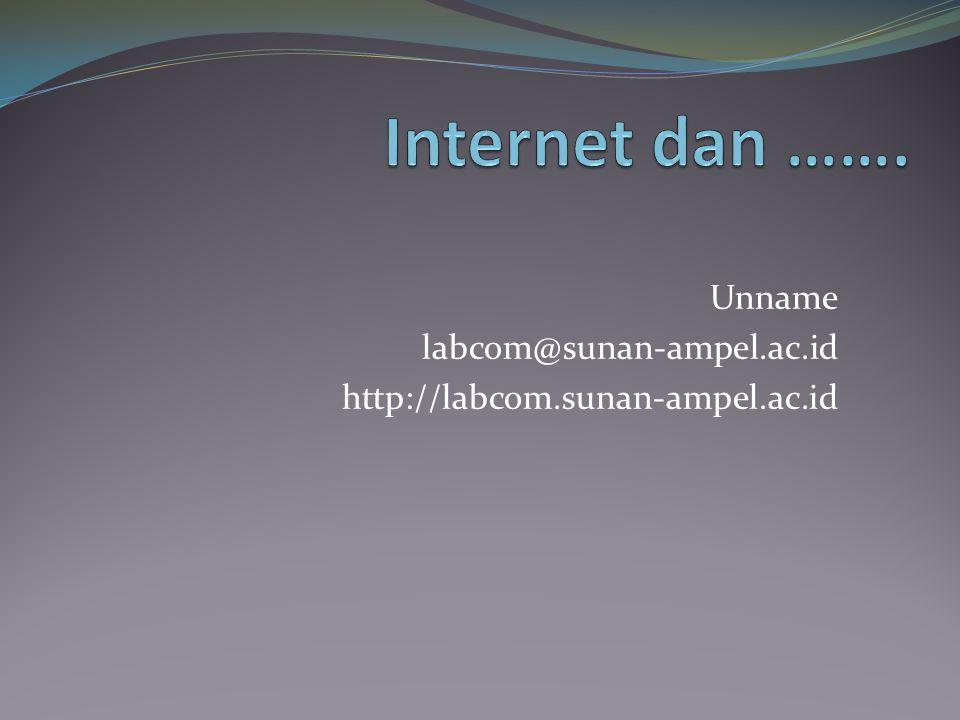 Unname labcom@sunan-ampel.ac.id http://labcom.sunan-ampel.ac.id