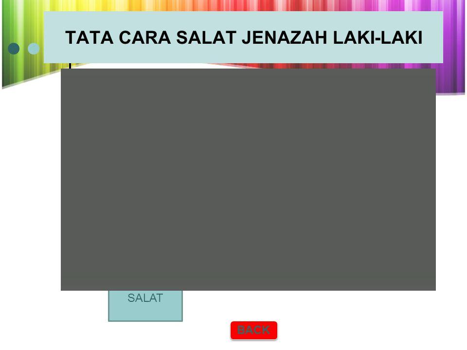 TATA CARA SALAT JENAZAH PEREMPUAN BACK klick SALAT