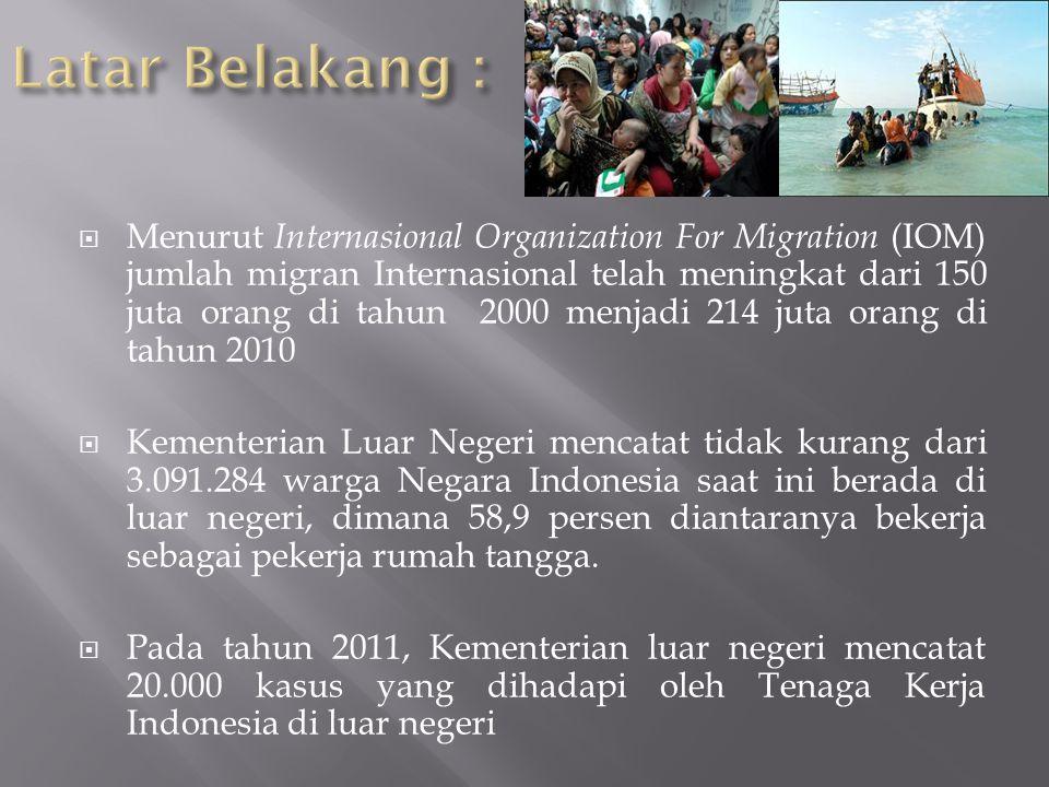  Korban dari trafficking adalah mereka yang terpinggirkan, terutama kaum perempuan (kondisi kemiskinan dan ketidakmandirian yang mereka alami)