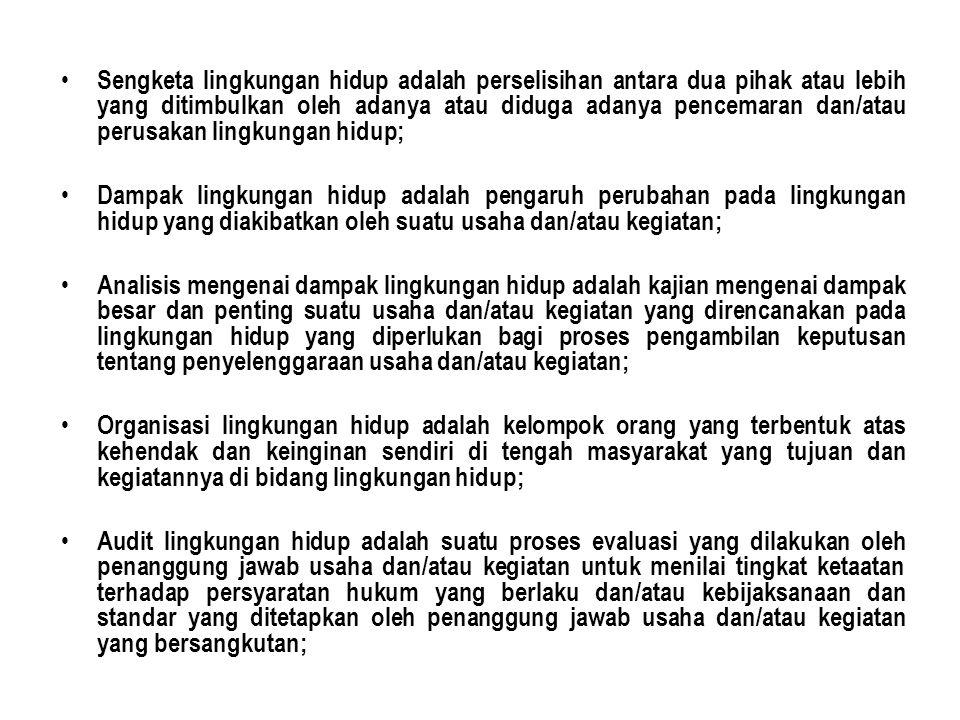 PROYEK SIPIL WAJIB AMDAL 1.PROYEK KE – PU-AN a.