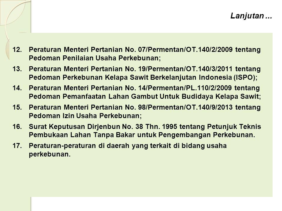 Lanjutan...12.Peraturan Menteri Pertanian No.