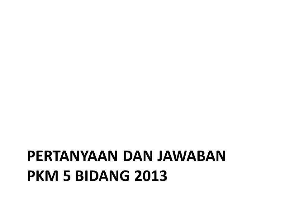 Saya ingin mengikuti kegiatan PKM ini, tapi saya kurang mengerti tentang prosedur-nya.