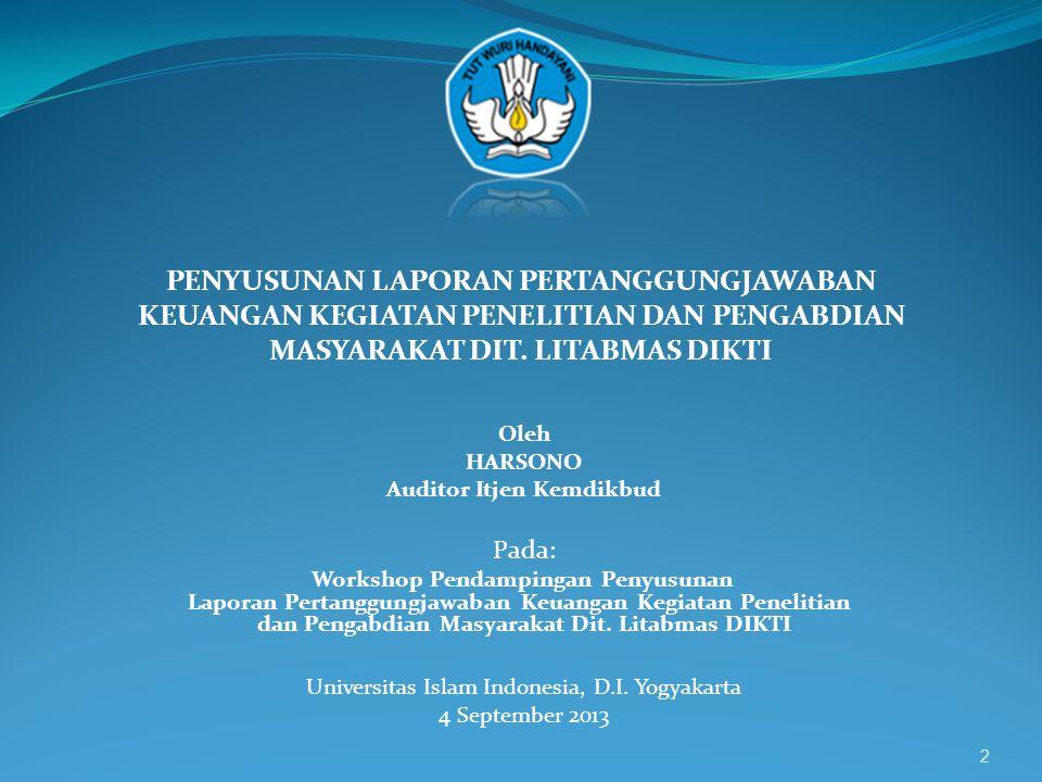 13  LAIN-LAIN -Administrasi -Publikasi -Seminar -Laporan