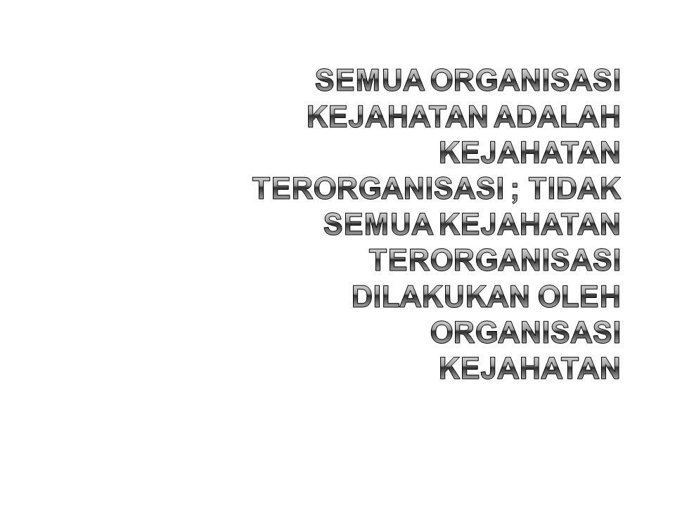 •Orang •Kelompok orang (...secara bersama-sama...) •Badan –Perusahaan –Yayasan –Badan Layanan Umum –Organisasi & Asosiasi •Pejabat Publik •Negara •Organisasi Kejahatan •Jaringan Kejahatan •Keluarga Kejahatan Belum diatur di Indonesia 5