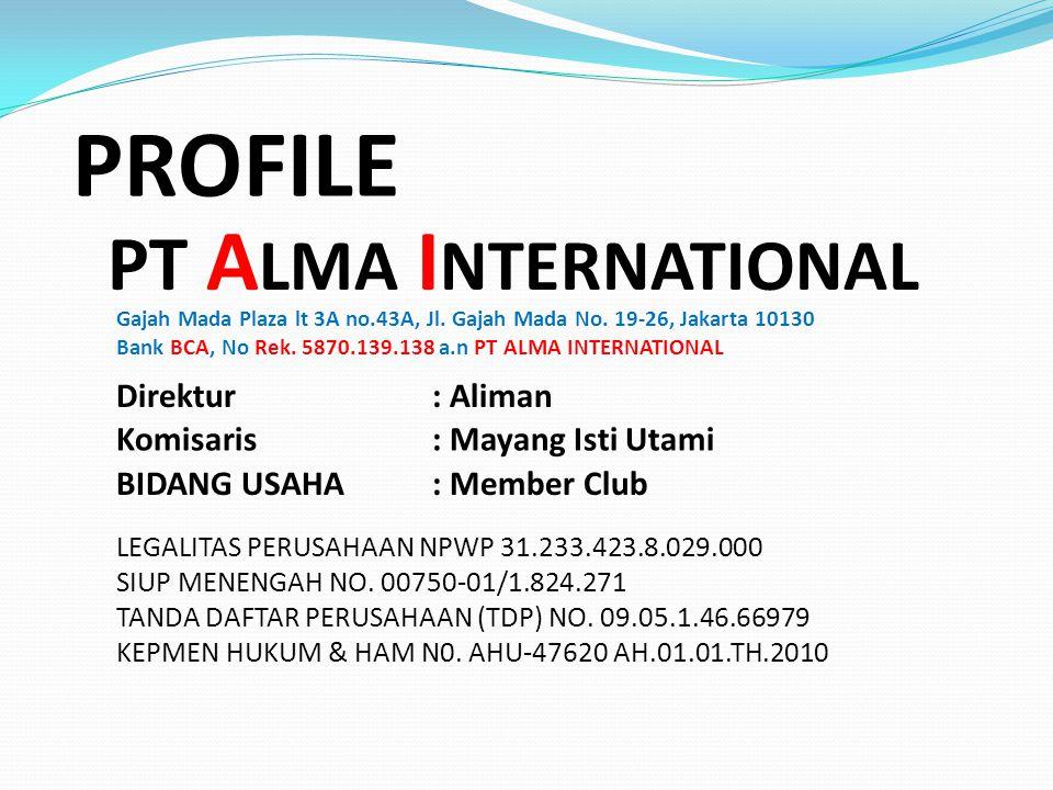HEAD OFFICE Gajah Mada Plaza lt 3A no.43A, Jakarta 10130