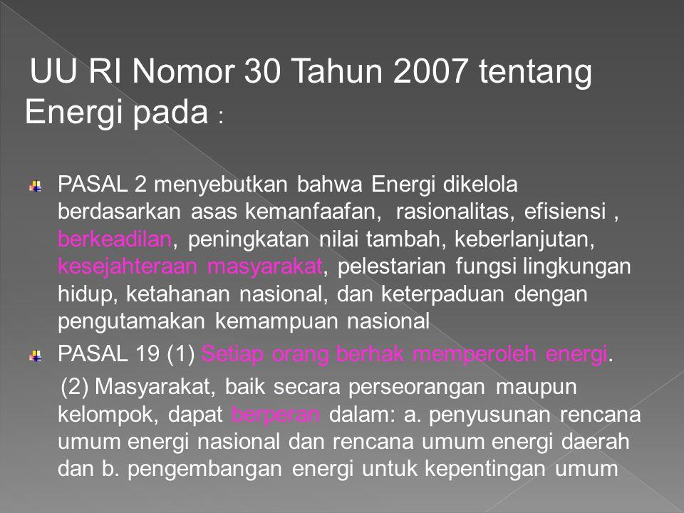 • UU No.7 tahun 1984 tentang ratifikasi CEDAW • Instruksi Presiden No.