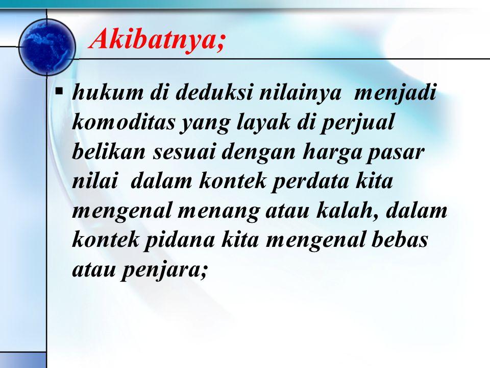 •Solusi untuk tegaknya moralitas aparatur pengadilan; a.