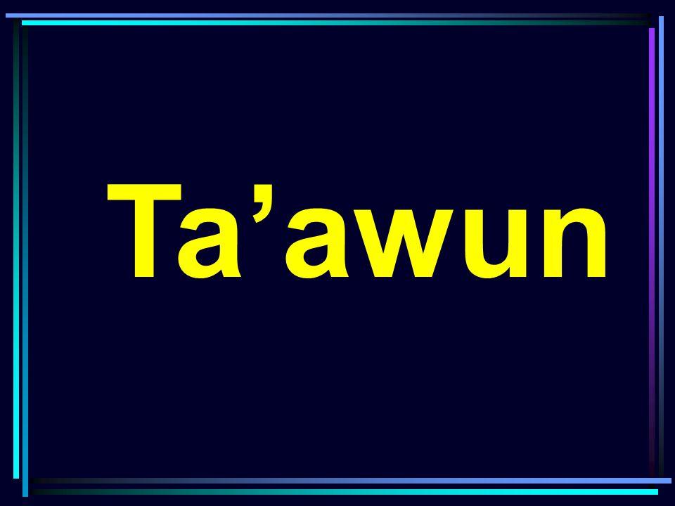 Muwashafat yang ingin dicapai •Menyambung silaturrahim (p) •Menjadikan dirinya bersama orang baik (p) •Menebar senyum di depan orang lain (p) •Berhati lembut (s) •Membantu yang membutuhkan (p) •Memberikan pelayanan umum karena Allah SWT (s)