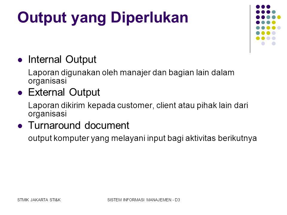 STMIK JAKARTA STI&KSISTEM INFORMASI MANAJEMEN - D3 Laporan untuk berbagai tingkatan manajemen  Laporan berjenjang (hierarchical reports) merupakan pe