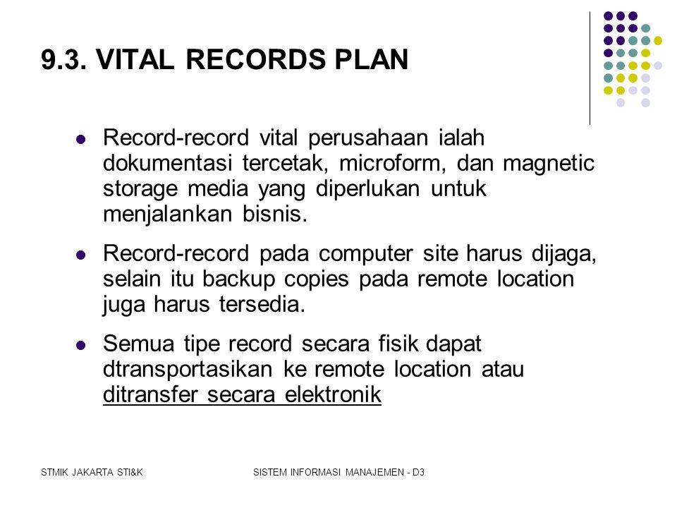 STMIK JAKARTA STI&KSISTEM INFORMASI MANAJEMEN - D3 c.MOBILITY. Perusahaan-perusahaan kecil bekerja sama menyediakan backup dengan user lainnya yang me