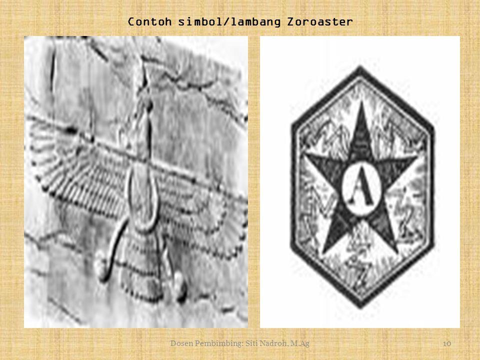 9 Zaratustra dari Spitaman Kiblat Zoroaster Kuil zoroaster Api Zoroaster yang padam Gambar kedua.