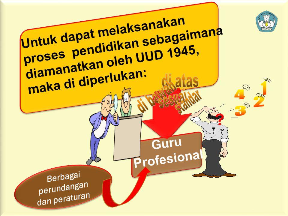 """3 PEMBUKAAN UUD 1945: """"…. melindungi segenap bangsa dan seluruh tumpah darah indonesia, mencerdaskan kehidupan bangsa, memajukan kesejahteraan umum da"""