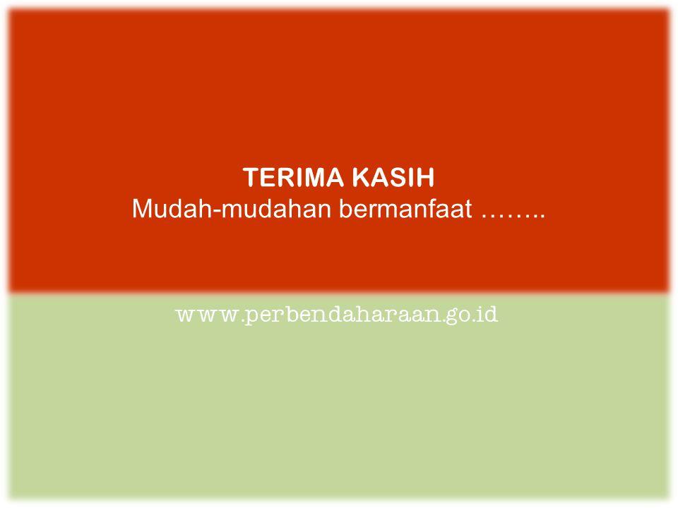 www.perbendaharaan.go.id TERIMA KASIH Mudah-mudahan bermanfaat ……..