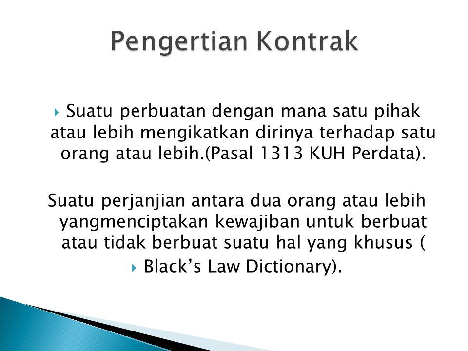  UU yang berlaku sebagai hukum positif  Pasal 1320 KUHPerdata  Pasal 1338 KUHPerdata  KUHD  Doktrin dan Kebiasaan