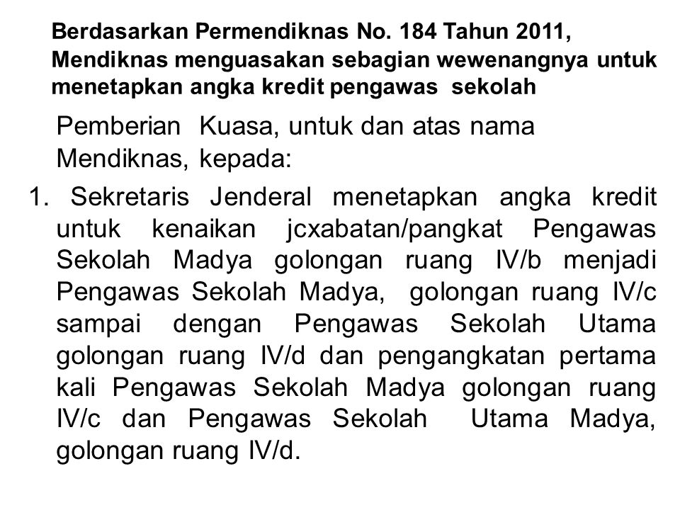 NOJENJANG/GOL AK TERTENTU YG DIPERSYARATKANKETERANGAN 1Muda (III/c ke III/d)6Pengembangan profesi 2Madya (III/a ke IV/a)8Pengembangan profesi 3Madya (IV/a ke IV/b)10Pengembangan profesi 4Madya (IV/b ke IV/c)12Pengembangan profesi 5Utama (IV/c ke IV/d)14Pengembangan profesi 6Utama (IV/d ke IV/e)16Pengembangan profesi 7Utama IV/e25Maintenance - dari tugas pokok