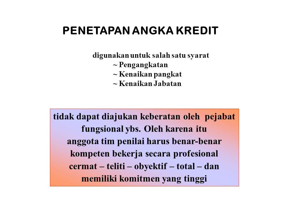 PENGAWAS SEKOLAH MUDA III/C DAN PENGAWAS SEKOLAH MUDA, PENATA TK.I, III/D DI LINGKUNGAN KEMENAG KABUPATEN/KOTA KA.