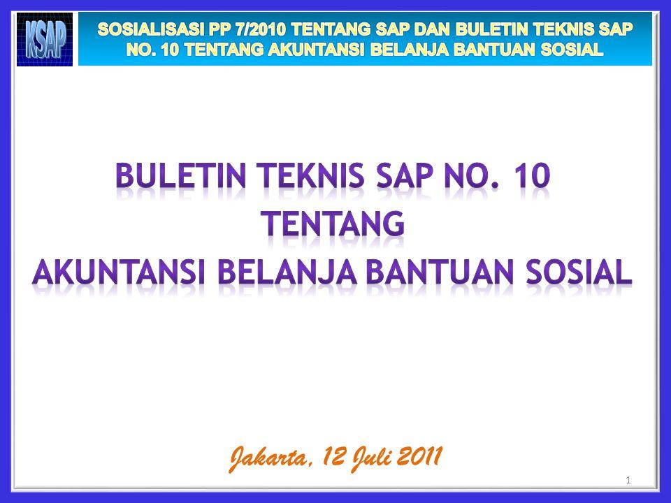 1 Jakarta, 12 Juli 2011