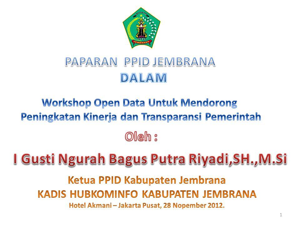 Pemanfaatan Website Pemkab.